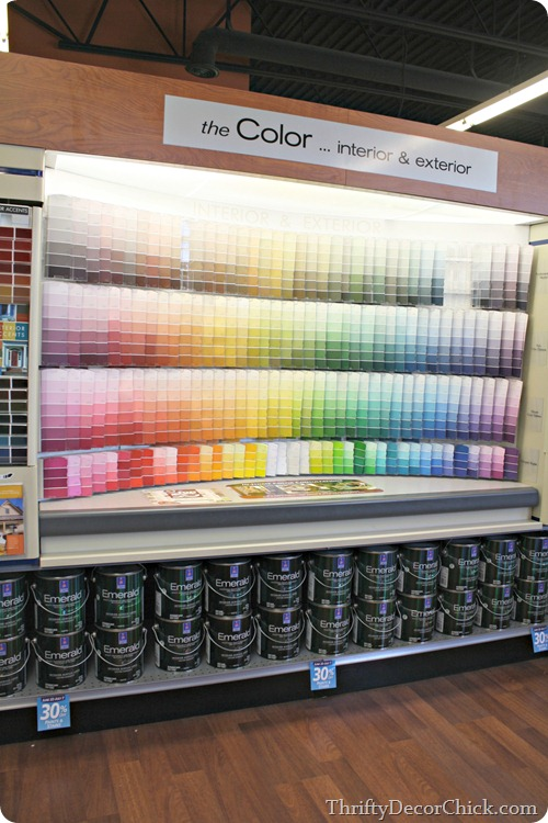 how to pick out paint colors