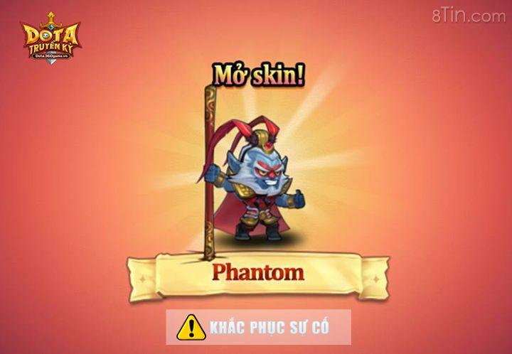 Sự cố liện quan đến phần quà Skin của Phantom trao hồi