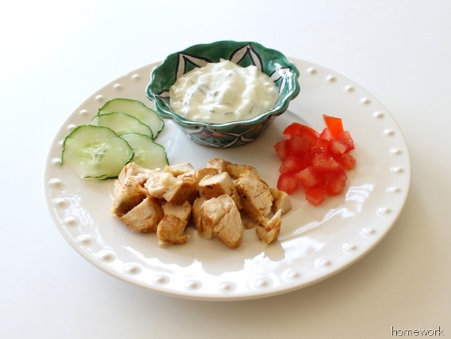 Chicken Pita & Greek Yogurt Sauce via homework (6)