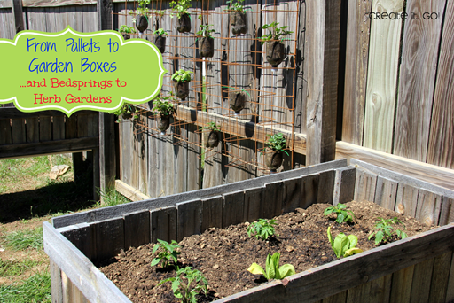 diy herb garden and raised beds