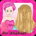 Braided hairstyles hair salon icon