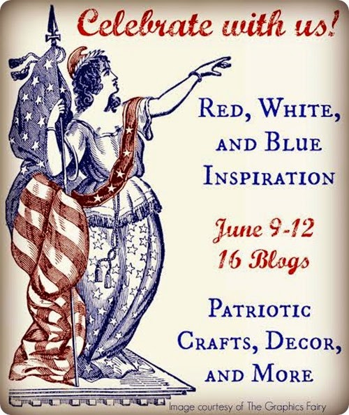 red white  & blue blog tour