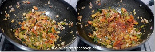 Masala pasta recipe step4