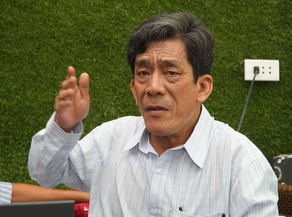 Ông Nguyễn Văn Lung là hộ nằm trong 4,3 ha khu phố 1, phường Bình An.