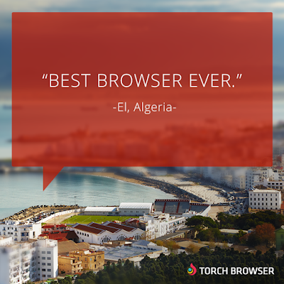 We love hearing from Torch users wwwtorchbrowsercom