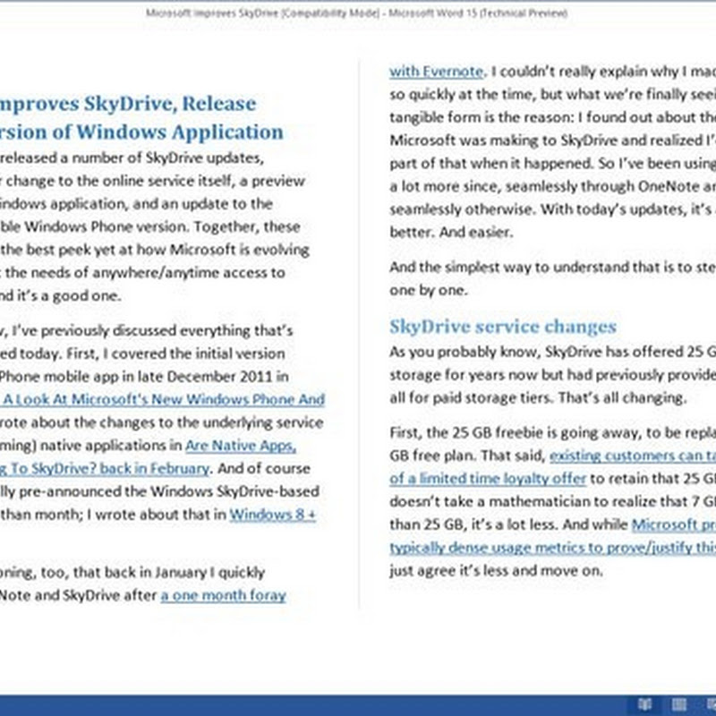 Microsoft Word 2013 Will Support PDF Viewing and Editing