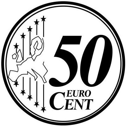 EUROS DIBUJOS PARA COLOREAR MONEDAS Y BILLETES