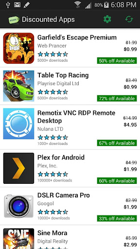 Discounted Apps Finder