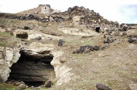 cidade subterrânea misteriosa e gigantesca na Turquia