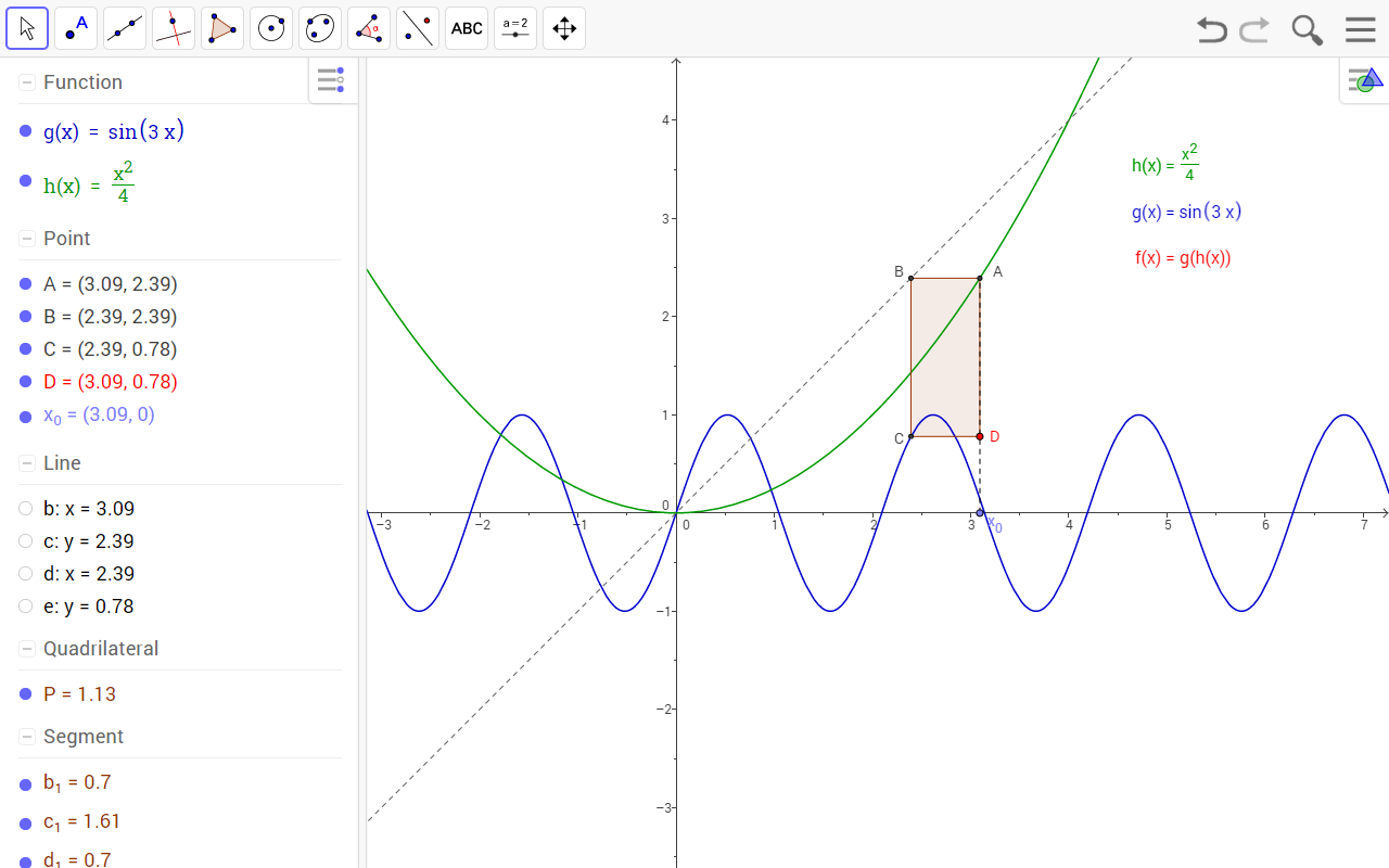 GeoGebra - screenshot