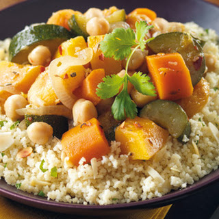 Chickpea And Butternut Squash Tagine.