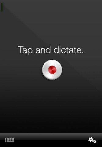 dictar en iphone  ipad