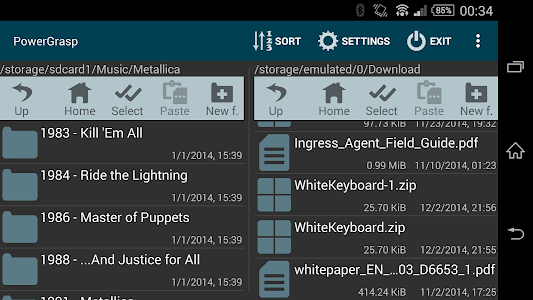 PowerGrasp file manager v3.2.1