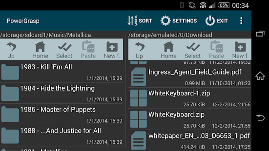 PowerGrasp file manager- screenshot thumbnail