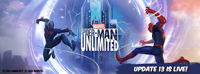 SpiderMan Unlimited Update 13 is just irresistible Dont miss your chance to