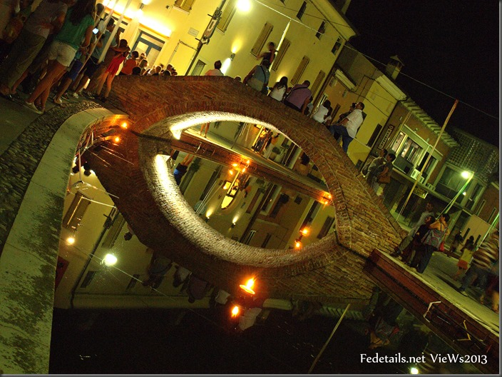 Comacchio By Night, Ferrara, Italy. Photo 2