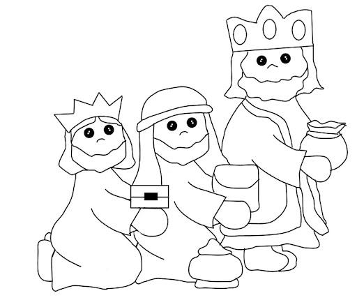 Desenhos Dos Reis Magos