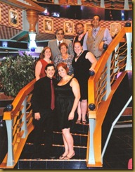 family group shot on stairs rev