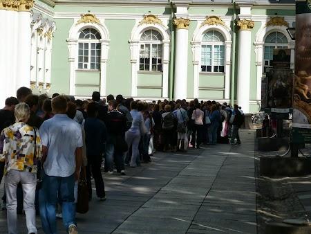 Coada la bilete Ermitaj