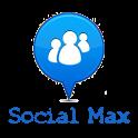 Social Max - Friend Network icon