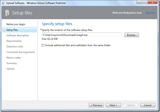 My Microsoft Operations Management Experience: Windows
