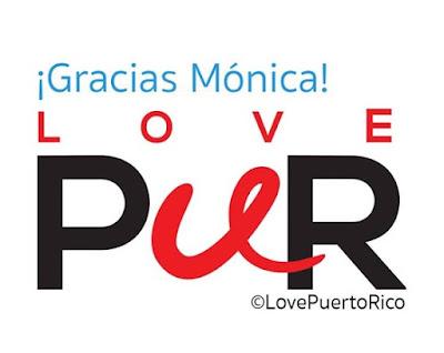¡Gracias Mónica Por poner en alto el nombre de Puerto Rico LovePuertoRico GraciasMonica