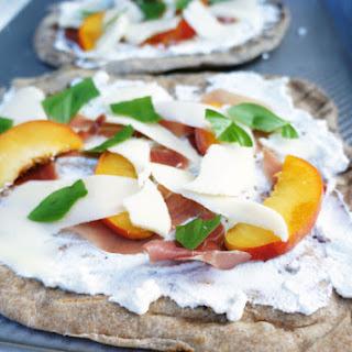 Grilled Peach and Prosciutto Pizza Recipe