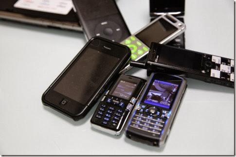 色々な携帯電話
