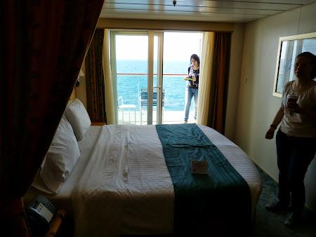 Croziera pe Mediterana: Cabina cu balcon