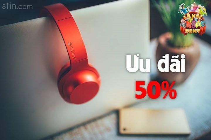 Mua tai nghe Sony với giá chỉ 50%, cơ hội hiếm có ;) ;)