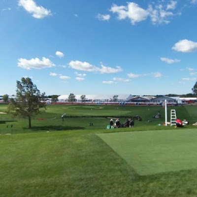 Were here at the Ryder Cup and ready for some match play