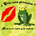 Detector princesa beso broma icon