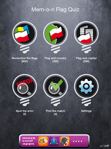 【免費益智App】Mem-O-ri Flag Quiz-APP點子