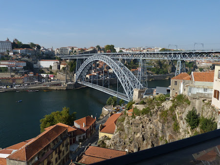 Obiective turistice Porto: podul Luis