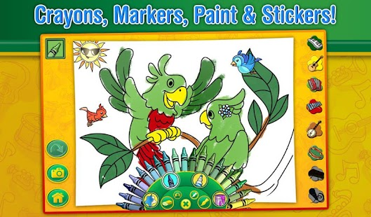Crayola Color, Draw & Sing- screenshot thumbnail