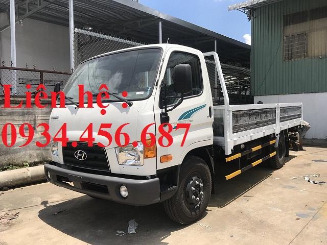 New Mighty 110s Hyundai 7 tấn thùng lửng