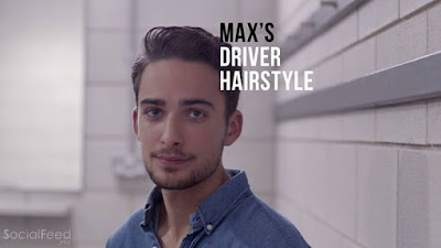 Max's hair is very stubborn This is how he tames it