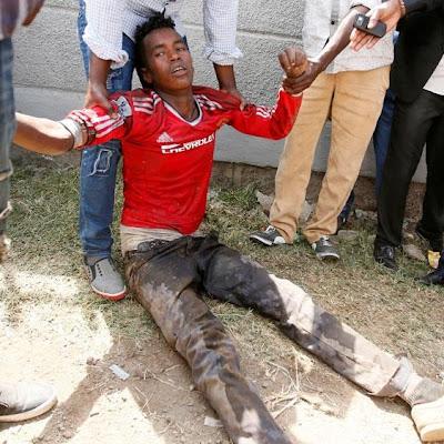 Hundreds of Oromo's killed during Irrechamassacre at the hands of Ethiopian military