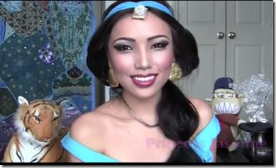 maquillaje de jasmine