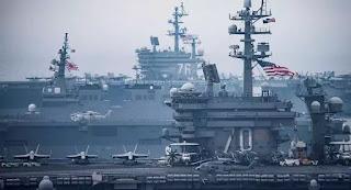 Mỹ cùng lúc điều 2 tàu sân bay tới khu vực Biển Đông ngay trong thời gian Chủ tịch Trung Quốc Tập Cận Bình thăm Philippines