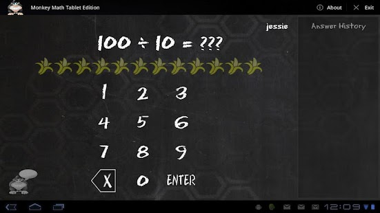 Monkey Math Tablet Edition- screenshot thumbnail