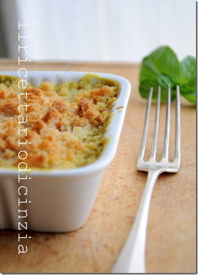 crumble di salmone, latte di cocco e curry