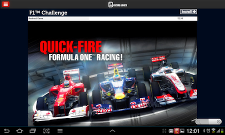 Racing Games Access For Tablet 1.0 screenshot 68226