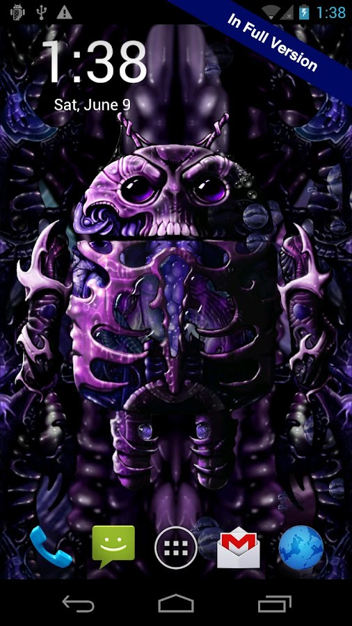 Biomechanical Droid Free- screenshot
