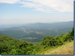 1212 Virginia - Shenandoah National Park - Skyline Drive - Hogback Overlook - view