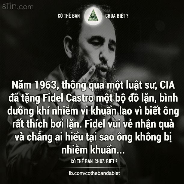 Người CIA ám sát 638 lần vẫn thất bại!