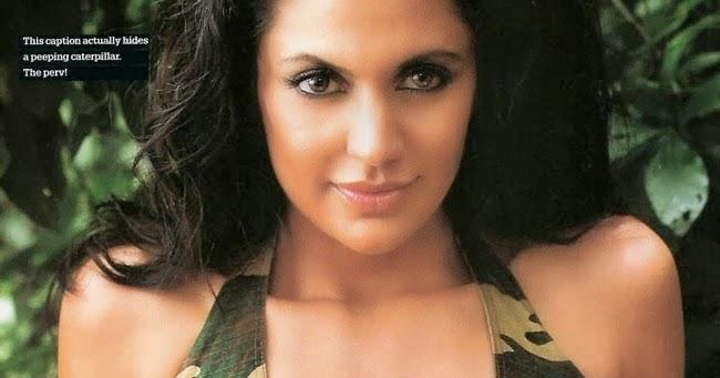 Bollywood Actresses In Maxim: KAAMANAA: Sexy Bollywood Actress Mandira Bedi Hot