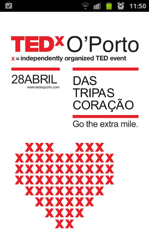 TEDx O'Porto - screenshot