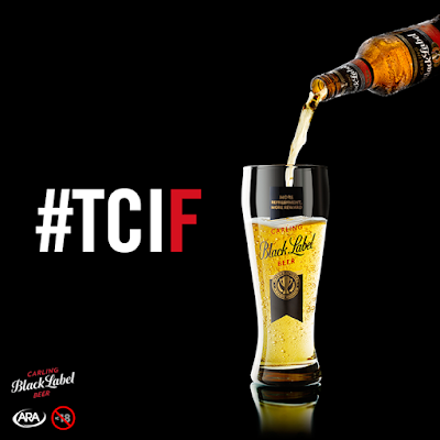 Thank Carling It's Friday Who are you sharing the ultimate reward with today
