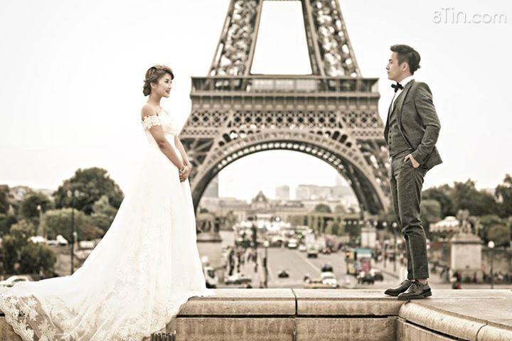 Tiếp tục tập II với serial ảnh áo cưới của bộ ảnh